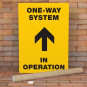 One-Way Direction Poster Printing – Printed in A5, A4 & A3