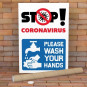 Wash Your Hands Signs Poster Printing – Printed in A5, A4 & A3