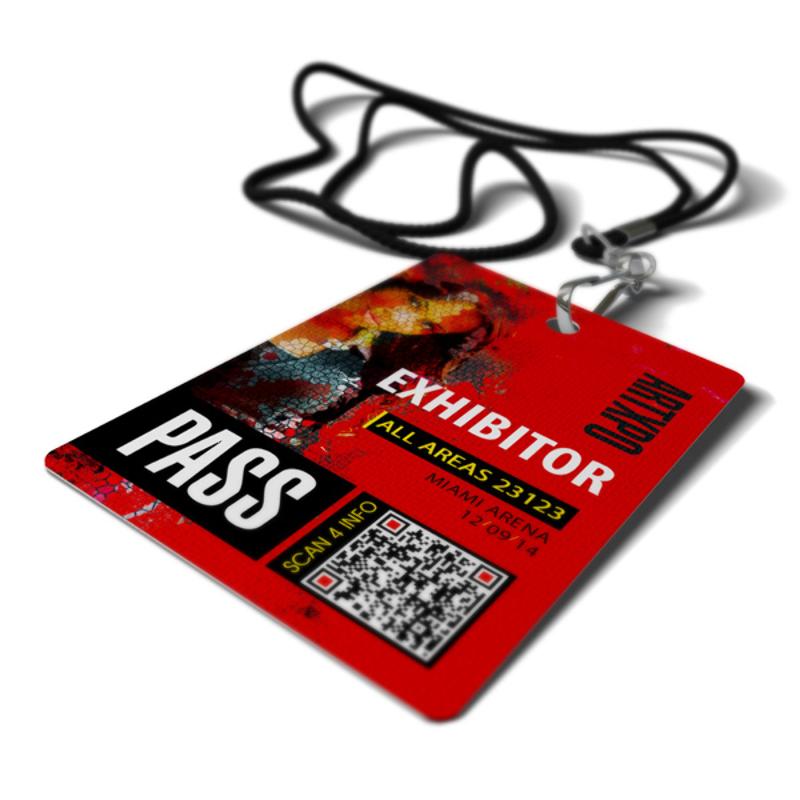 Exhibition Badge Printing