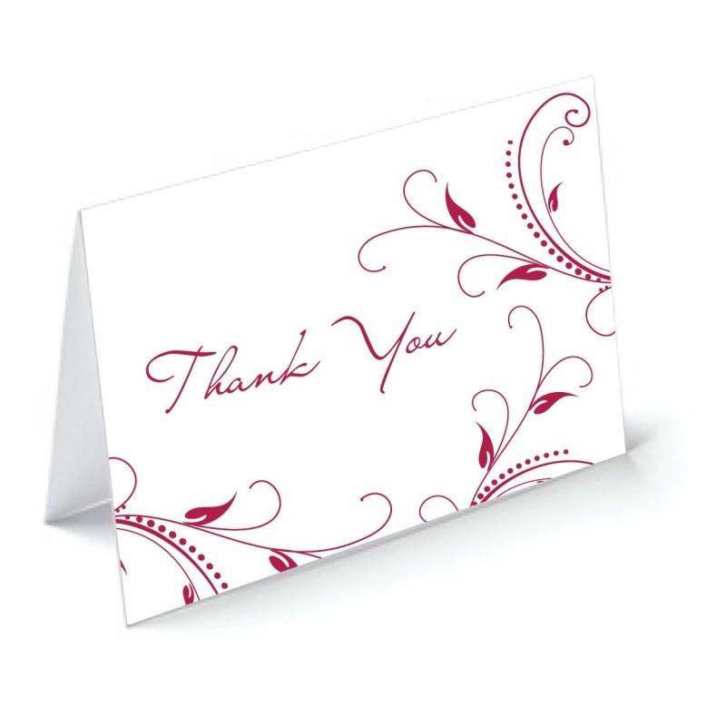 Custom Thank You Cards Printing