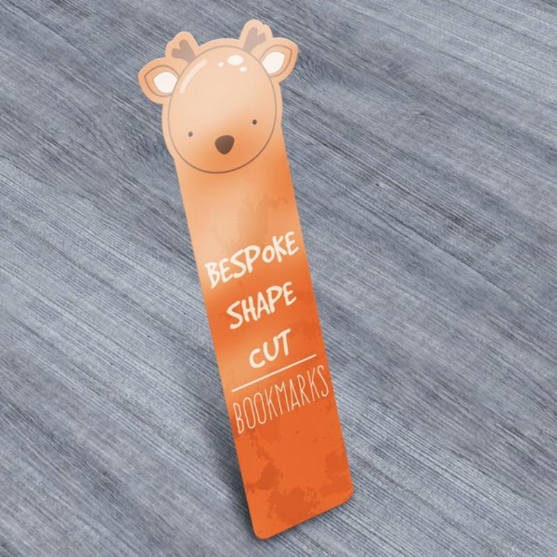Custom Shape Cut Bookmark Printing