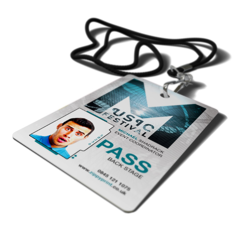 Festival Pass Printing